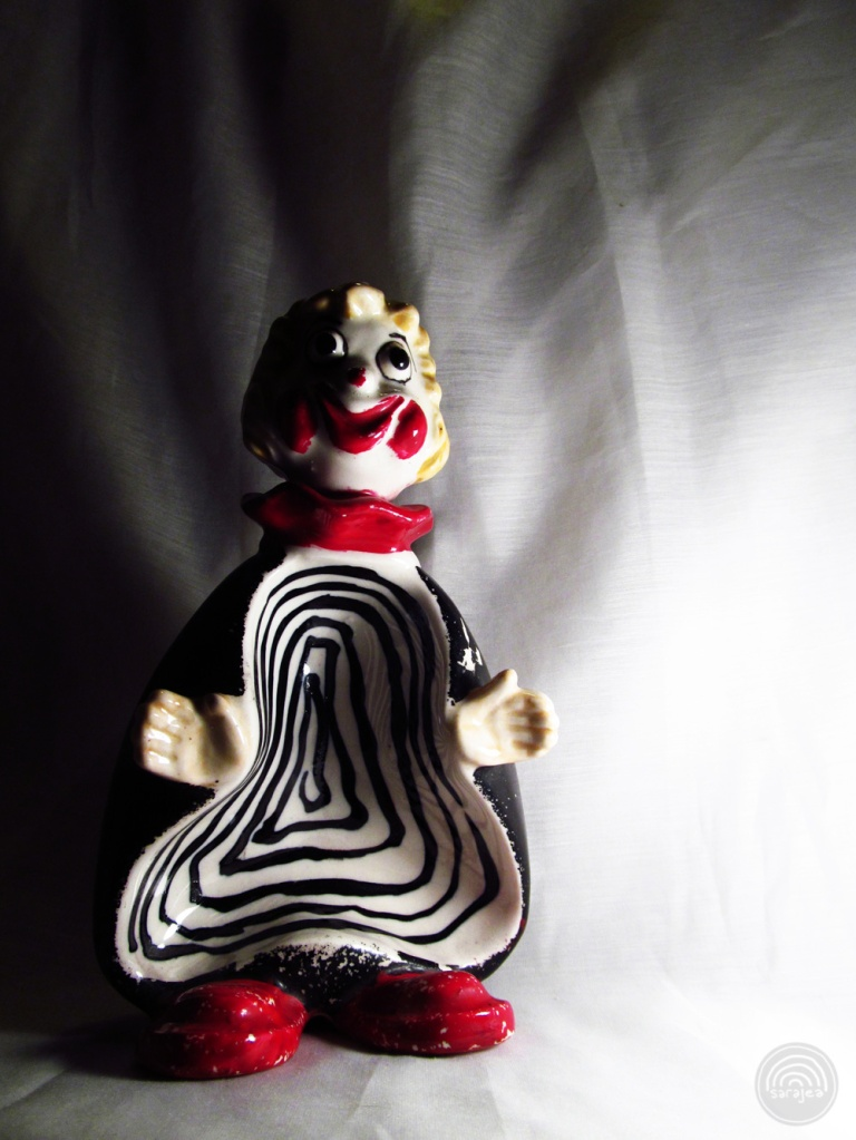 Death Spiral Ashtray Clown