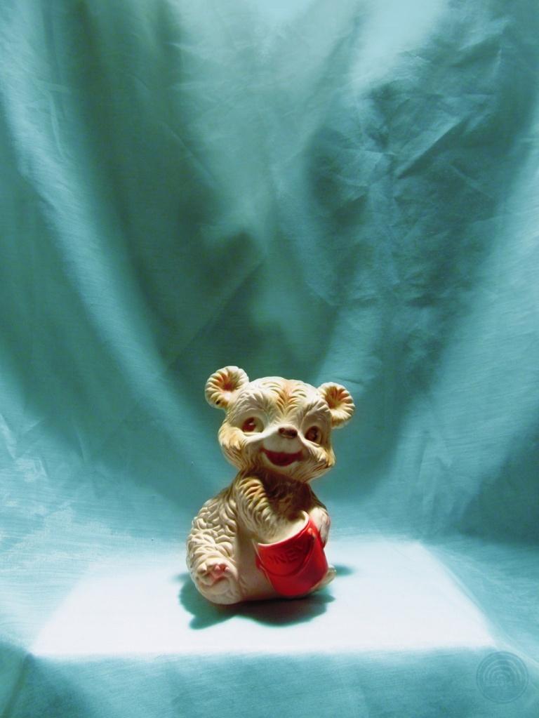 Honey Bear Squeaky Toy